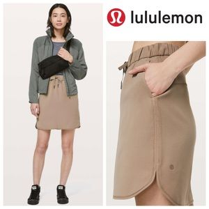 NWT Lululemon On The Fly Skirt *Woven in Frontier